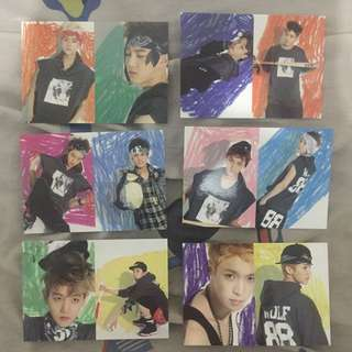 EXO WOLF POST CARDS