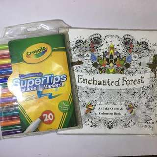 Crayola Supertips Washable Markers 20's
