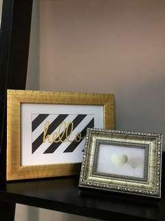 Frame & Prints (1 Set)