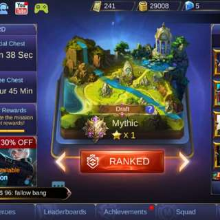 Mobile Legend Account Boost