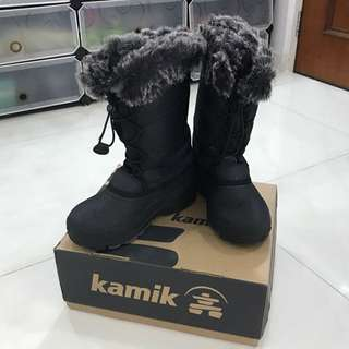 Kamik snowgypsy snow winter rubber boots