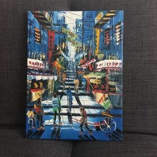 Original Painting of Hong Kong