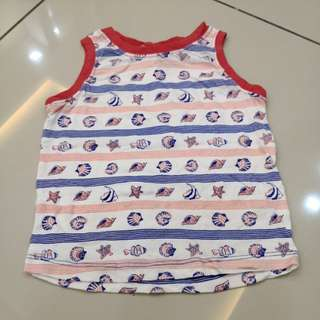 Kid Sleeveless Shirt (2-3t)