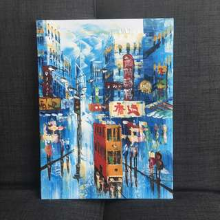 Original Painting of Hong Kong