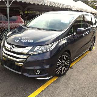 Honda Odyssey RC1 Absolute 4 camera