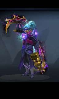 Dota 2 - anti-mage (guilt of the survivor skin)