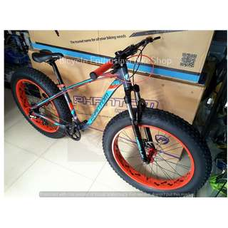 Phantom Herculin Fatbike 26 Hydraulic Fat Bike Bicycle ( Powered by Trinx )