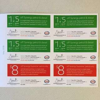 Esso Vouchers (All Stations)
