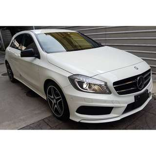 MERCEDES BENZ A180 1.6 AMG SPORT NIGHT PACKAGE DISTRONIC (A) OFFER