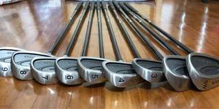 Pro Select Left Hand Iron Set (9 pcs)