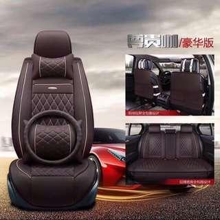 ♥️特價♥️通用車型車墊車套頭枕腰枕車軚一套