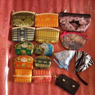 Clearance Sale Assorted Purses n Key Chain (15 pcs for $6 only)