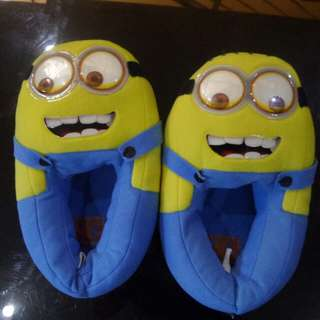 Minion bedroom shoes
