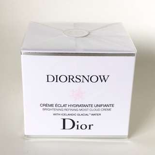 Christian Dior Snow Brightening Refining Moist Cloud Cream