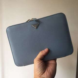 PRADA mini Ipad/ clutch