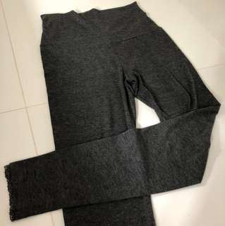 Maternity grey tights leggings