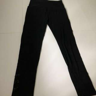 Maternity tights leggings black
