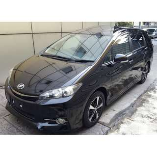 TOYOTA WISH 1.8 S MONOTONE SUNROOF (A) OFFER UNREG 2013