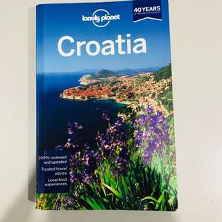 Lonely Planet Croatia (Travel Guide) 🇭🇷 7th Edition, paperback