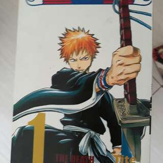 komik bleach no. 1-35 kolpri mulus bonus komik bleach movie