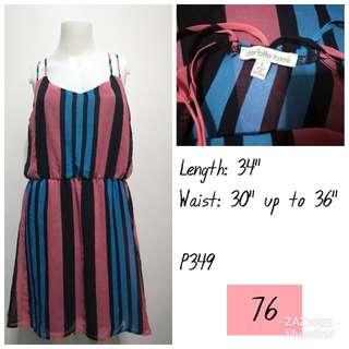 CHARLOTTE Russe Multicolored Dress