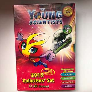 BN Young Scientist 2015 collectors' edition set
