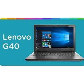 Lenovo G40 Laptop $599