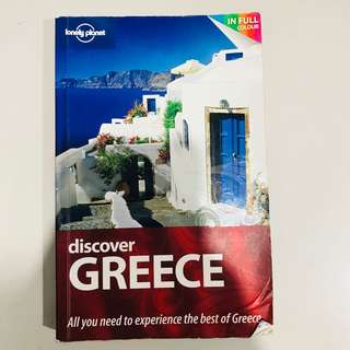 Lonely Planet Discover Greece (Travel Guide) 🇬🇷 1st Edition, paperback