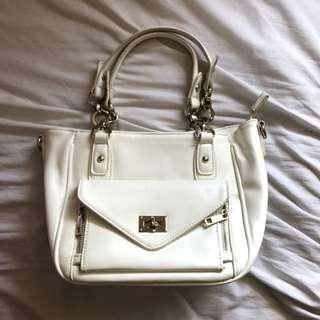 Forever New White Bag