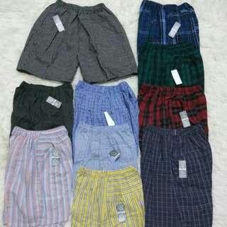 Celana Pendek Anak Distro 5 - 10 Tahun Motif Kotak