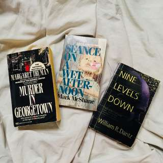 Assorted Mystery Books bundle