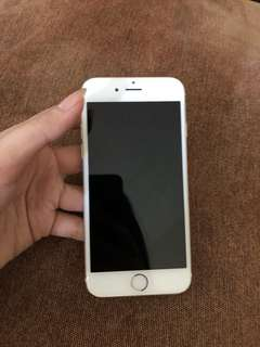 Gold iPhone 6 16GB USED Smart lock
