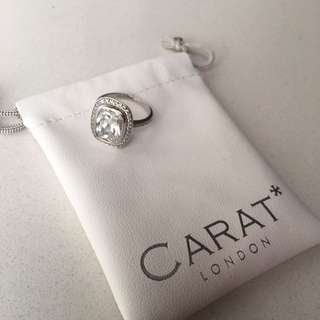 CARAT*London classic emerald cut ring