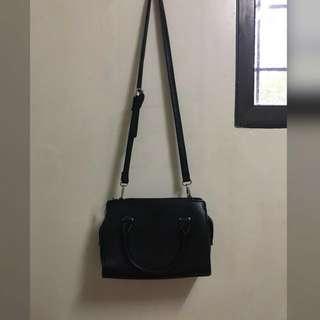 REPRICED Stradivarius Black Sling Bag