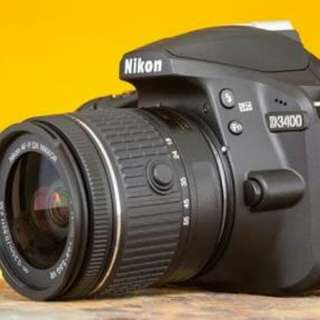 Cicilan tanpa kartu kredit untuk Nikon D3400