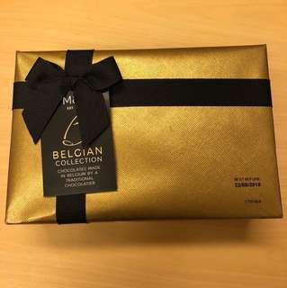 Marks & Spencer Belgian collection chocolate