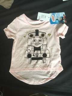 BNWT  pink Thomas and friends  SIZE 1