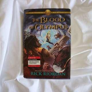The Blood of Olympus (The Heroes of Olympus #5) by Rick Riordan
