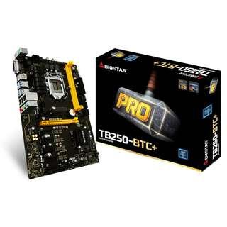 Biostar TB250-BTC+ For Mining 8 GPU