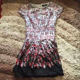 Buy 1 Minimal Polkadot Get 1 Minimal Dress Grey