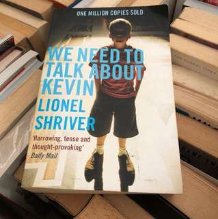 We need to take about kevin by lipnel shriver