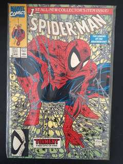 Spider-Man Marvel Comic (very 1st edition). Mint condition.