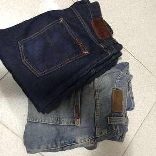 Nudie jeans steady Eddie w30L32