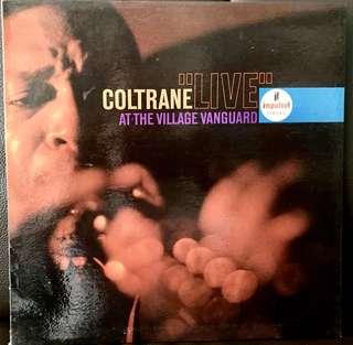 "【Vinyl Record】Coltrane - ""Live"" at the Village Vanguard"