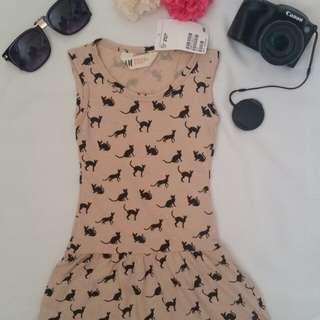 H&M Summer Dress (Cat Design)