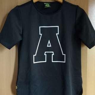 Mint A Black Shirt