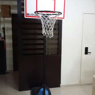 Stats Adjustable Basketball Hoop System Junior size