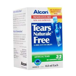 Alcon Tears Naturale® Free Lubricant Eye Drops