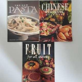 (3 for $6) Cookbooks