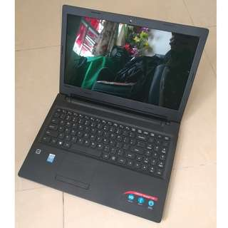 "(i3 5 Gen Seldom Use) Lenovo IdeaPad 100 15.6"" Big Screen Slim Notebook"